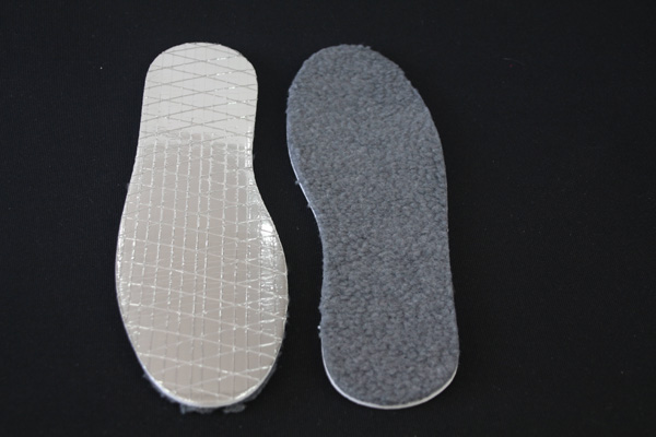 Aluminum Foil Insole for Gold Winter