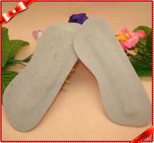 Natural Cowhide Heel Strrips Soft Silicone Heel Pads