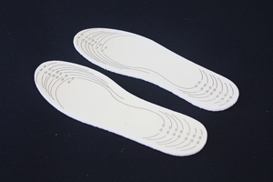 Healthy Shock Absorbtion Memory Foam Insoles for Women's Shoes
