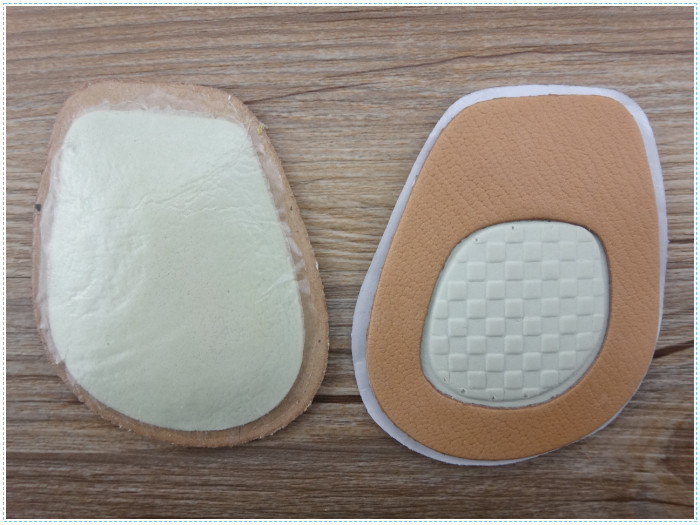 Shock Absorption Thin Leather Half Cushion Insole