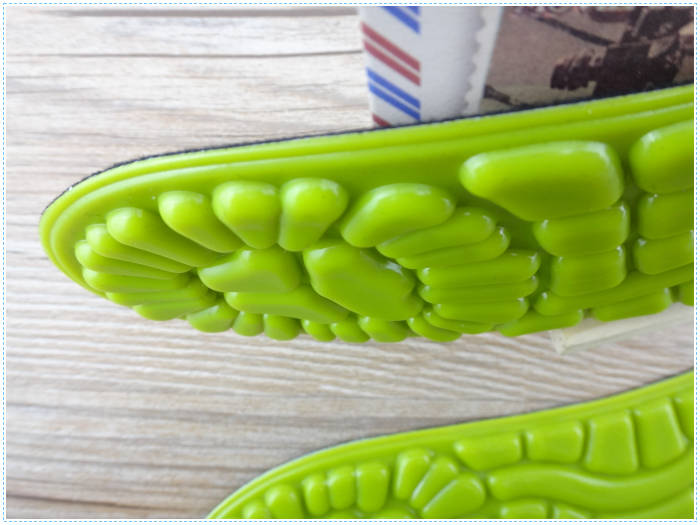 Hot Selling Soft Silicone Orthotic Gel Active Work Insoles