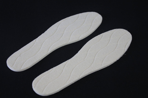 Warm Insole Grid Wool Aluminum Foil Boot Warmer Inserts