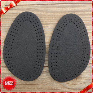 High Quality Half Leather Insoles Forefoot Insert Insoles