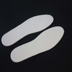 New Designed Warm Wool Felt Insoles Comfort Insoles for Shoes