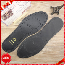Breathable Artificial Mens Leather Insoles for boots